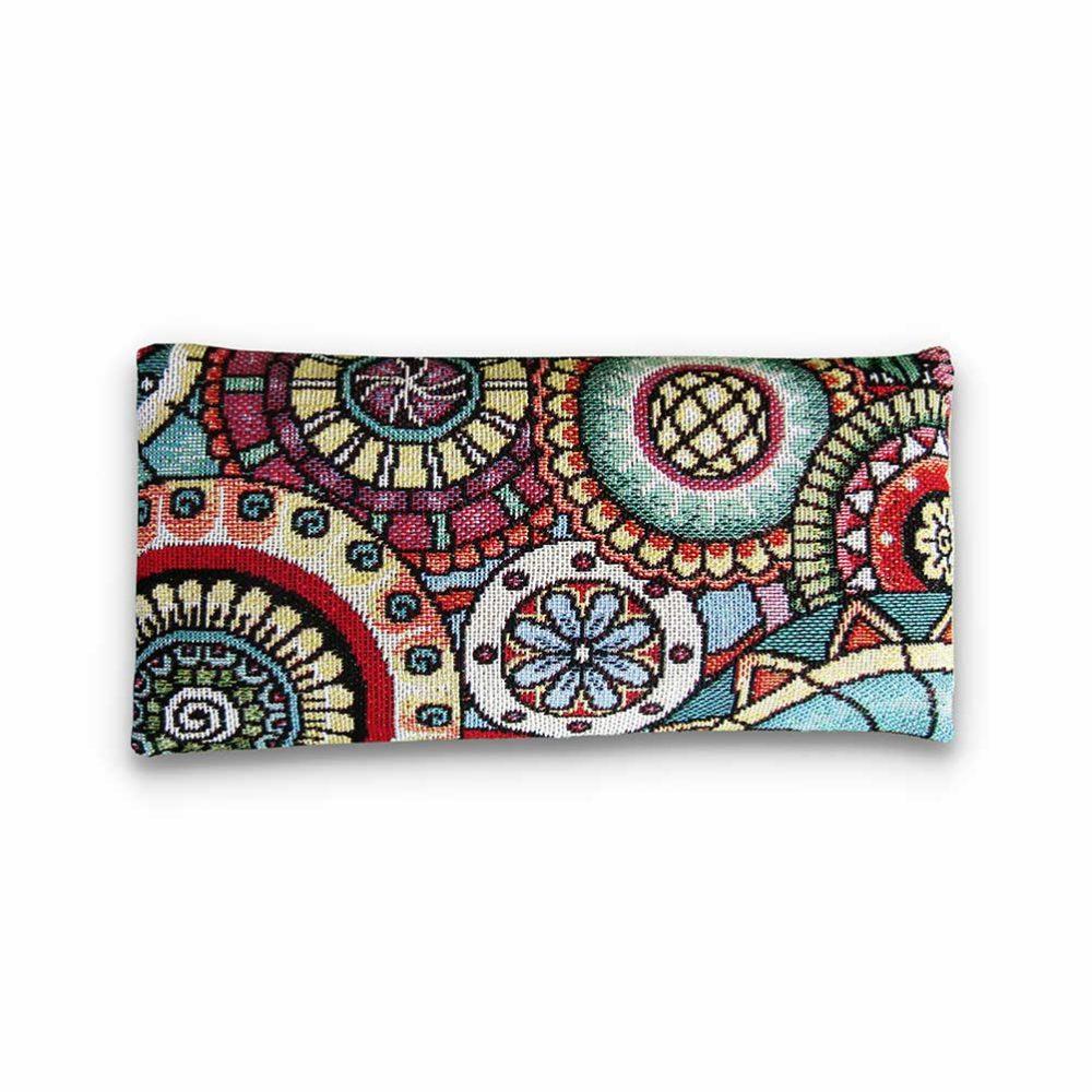 Bandeau pour les yeux mandala - Bandeau pour méditer Yuwa - Yuwa fabrication artisanale