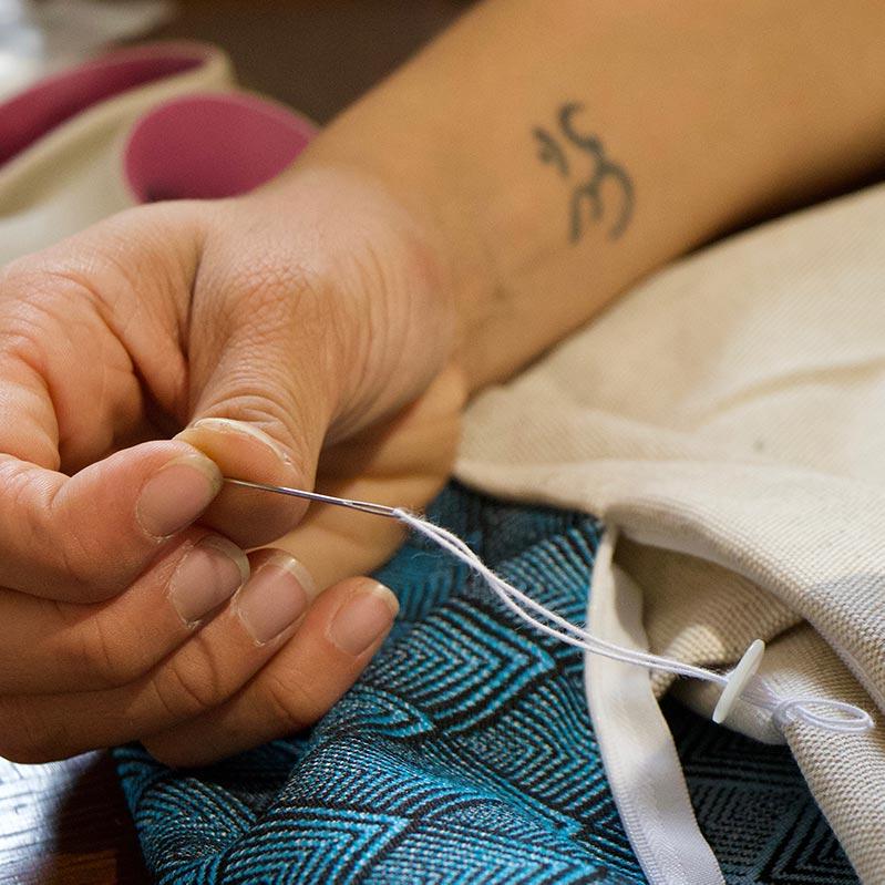 accessoires de yoga fabriqués par des artisans