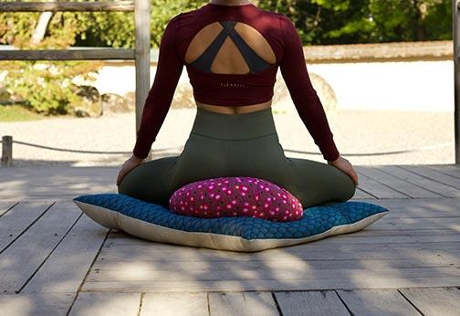 zabuton et zafu de méditation