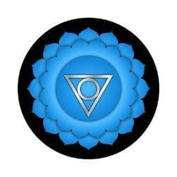 chakra bleu