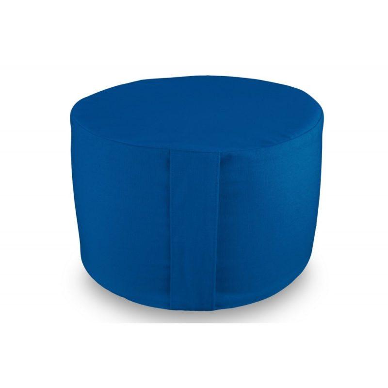 Rondo uni bleu Yuwa artisanal et éco-responsable méditation