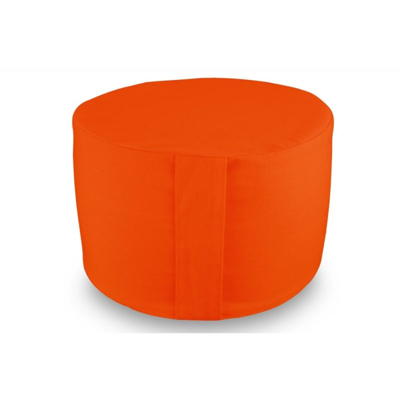 Rondo uni orange Yuwa artisanal et éco-responsable méditation