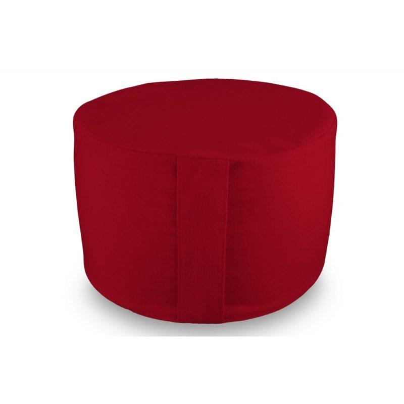 Rondo uni rouge Yuwa artisanal et éco-responsable méditation