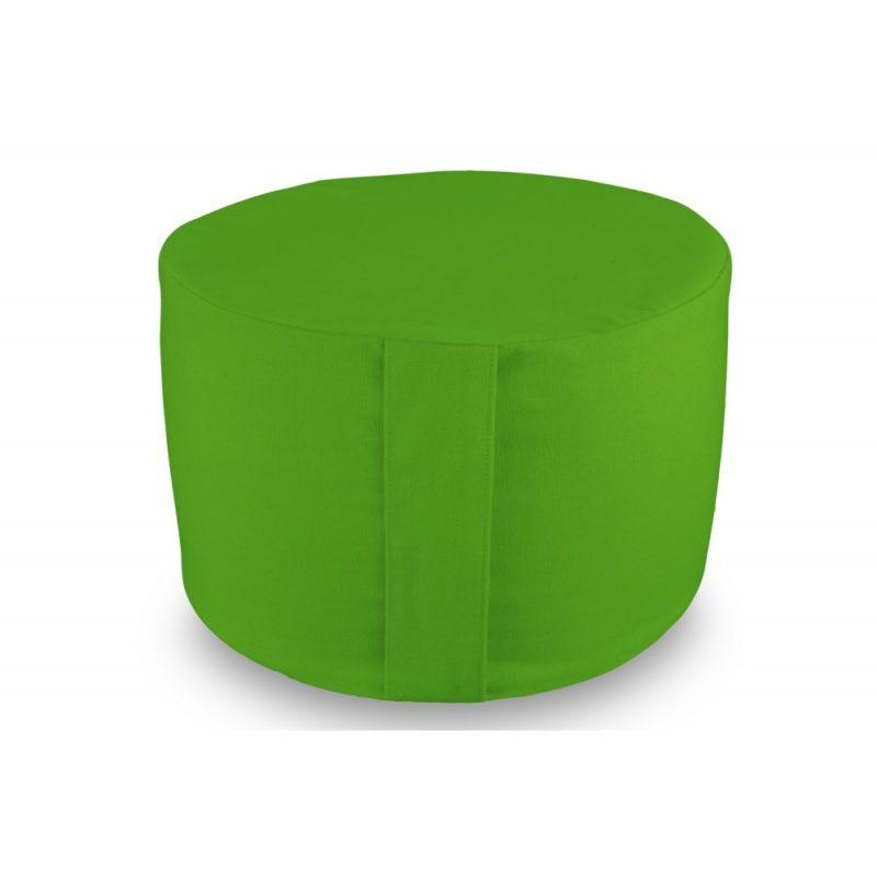 Rondo uni vert Yuwa artisanal et éco-responsable méditation