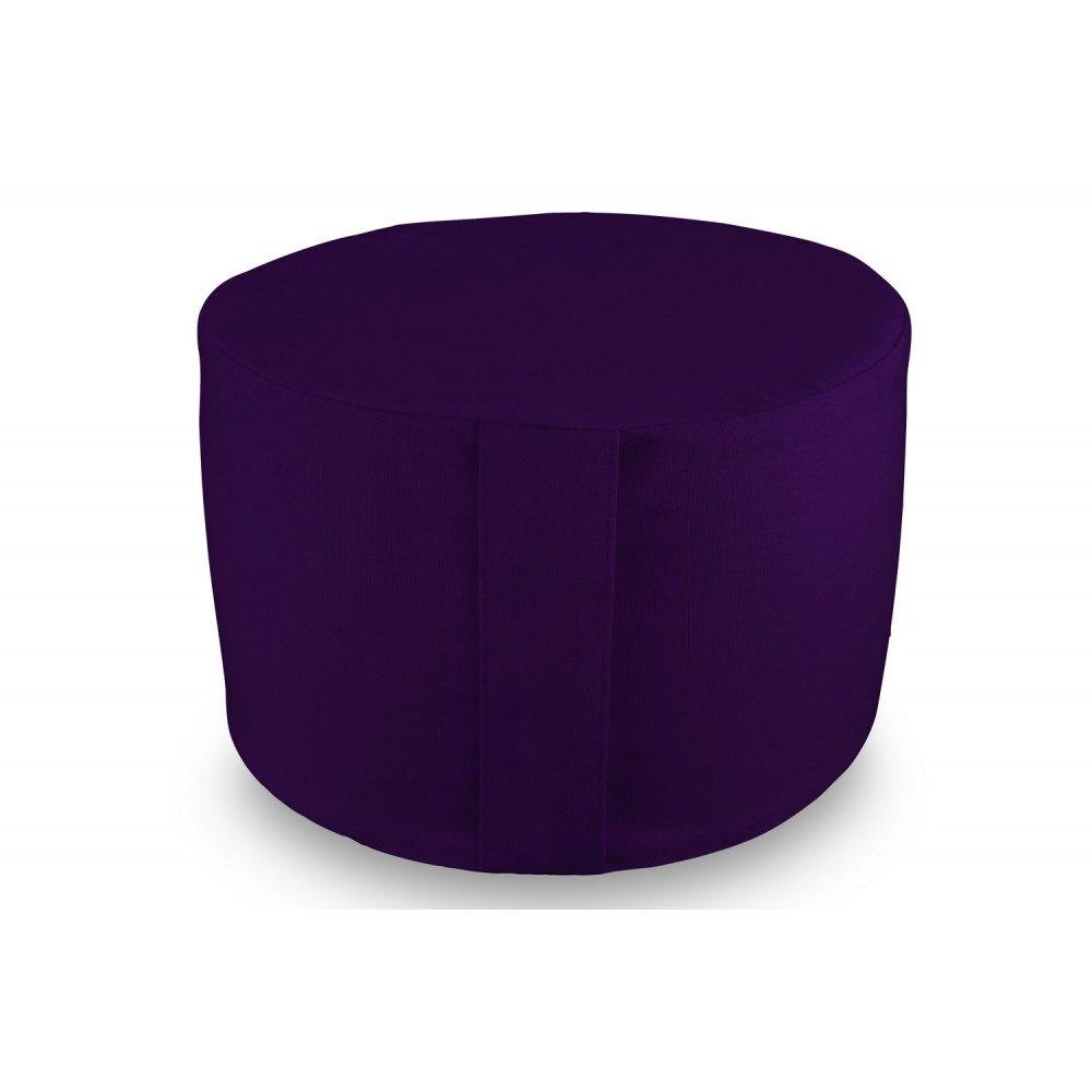 Rondo violet - Coussin de méditation Yuwa - Rondo fabriqué en France