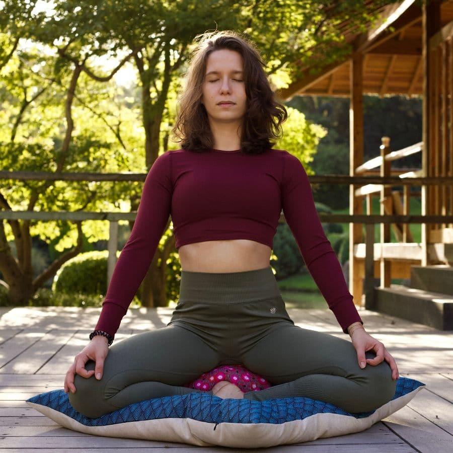 zabuton, tapis de méditation artisanal - yuwa