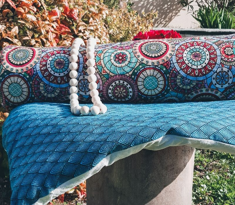 zabuton, le tapis de méditation