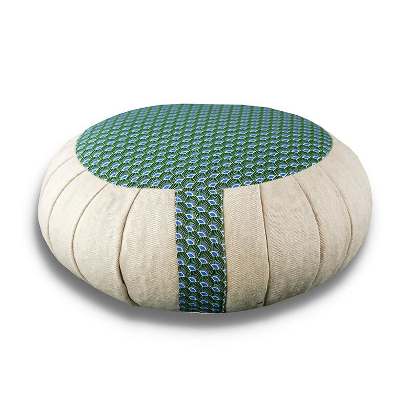 Coussin de méditation zafu - Hokkaïdo - Fabrication artisanale