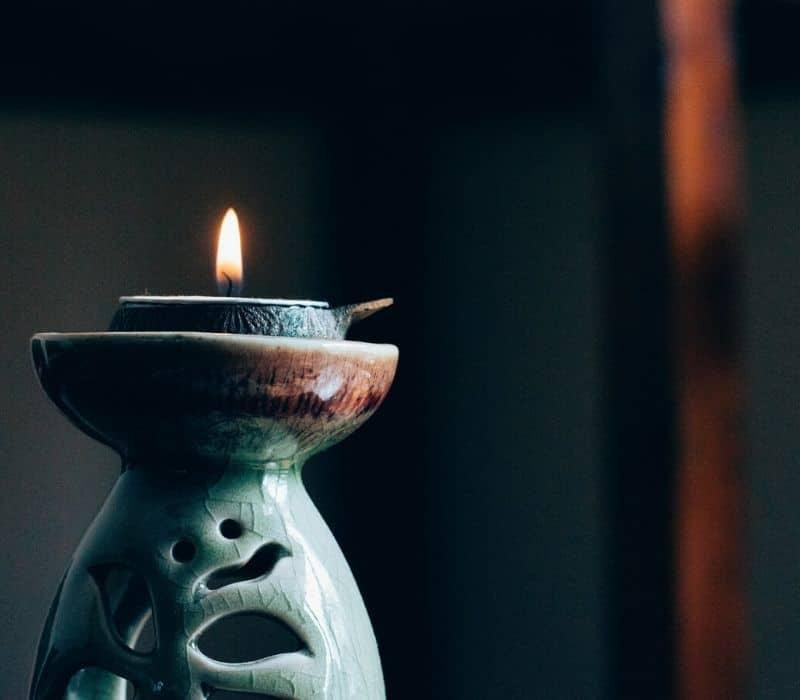 la bougie pour méditer sereinement