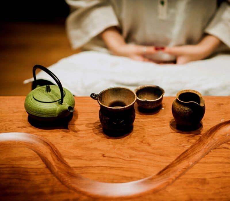 le thé, boisson à boire pour les debutants en méditation