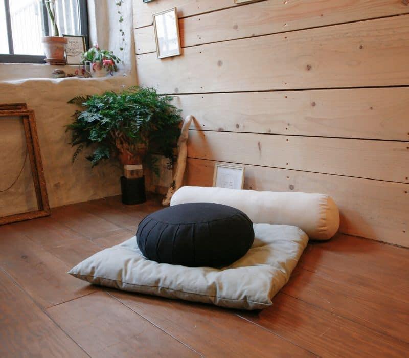 coin de méditation zen