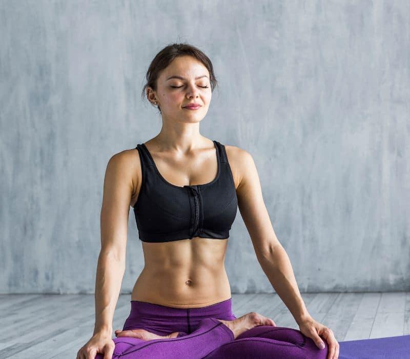 Position de méditation du lotus