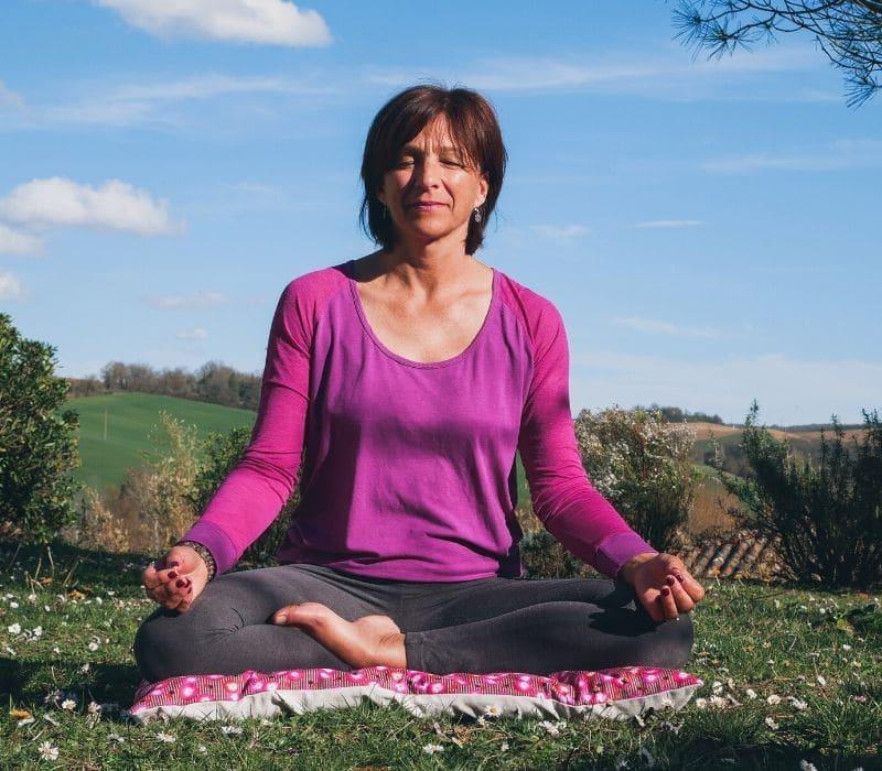 bonne posture de méditation à avoir
