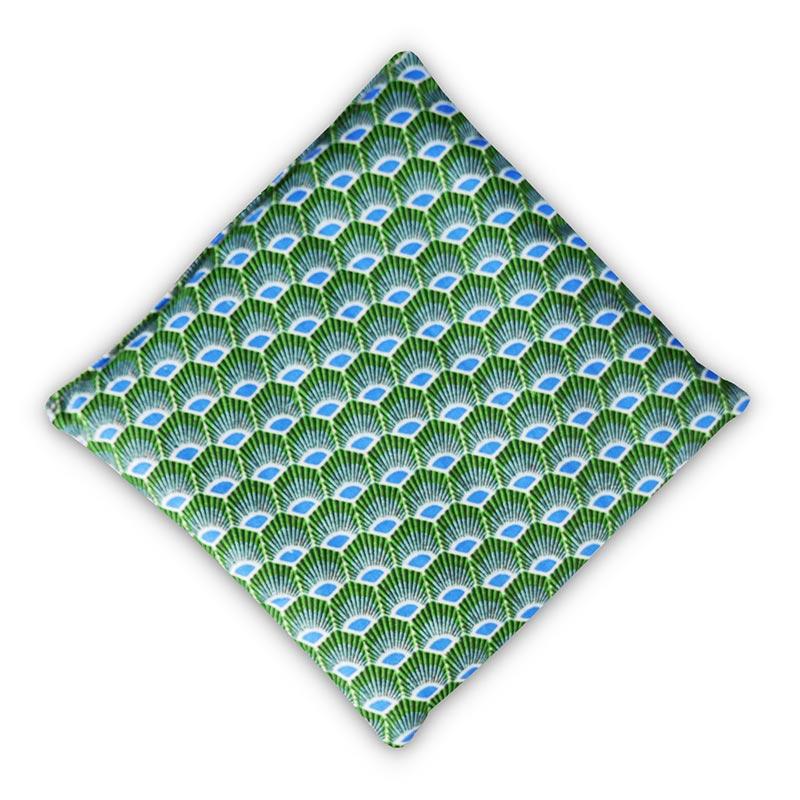Bouillotte seche lin hokkaido carré face